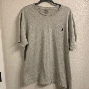 🎃 Polo R Lauren Grey Gray Short Sleeve T-Shirt